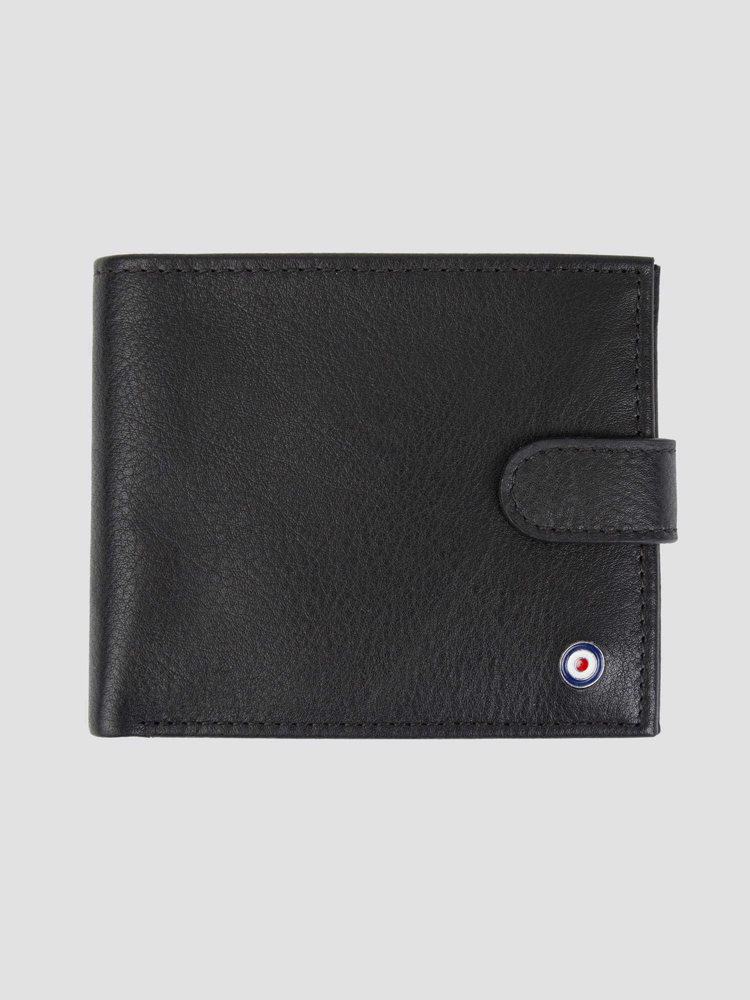 Coin Bifold Wallet - Black