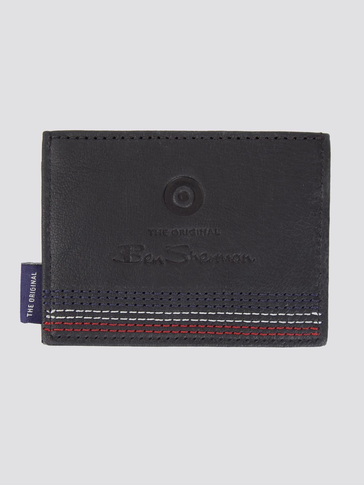 Penn Stitch Detail Cardholder