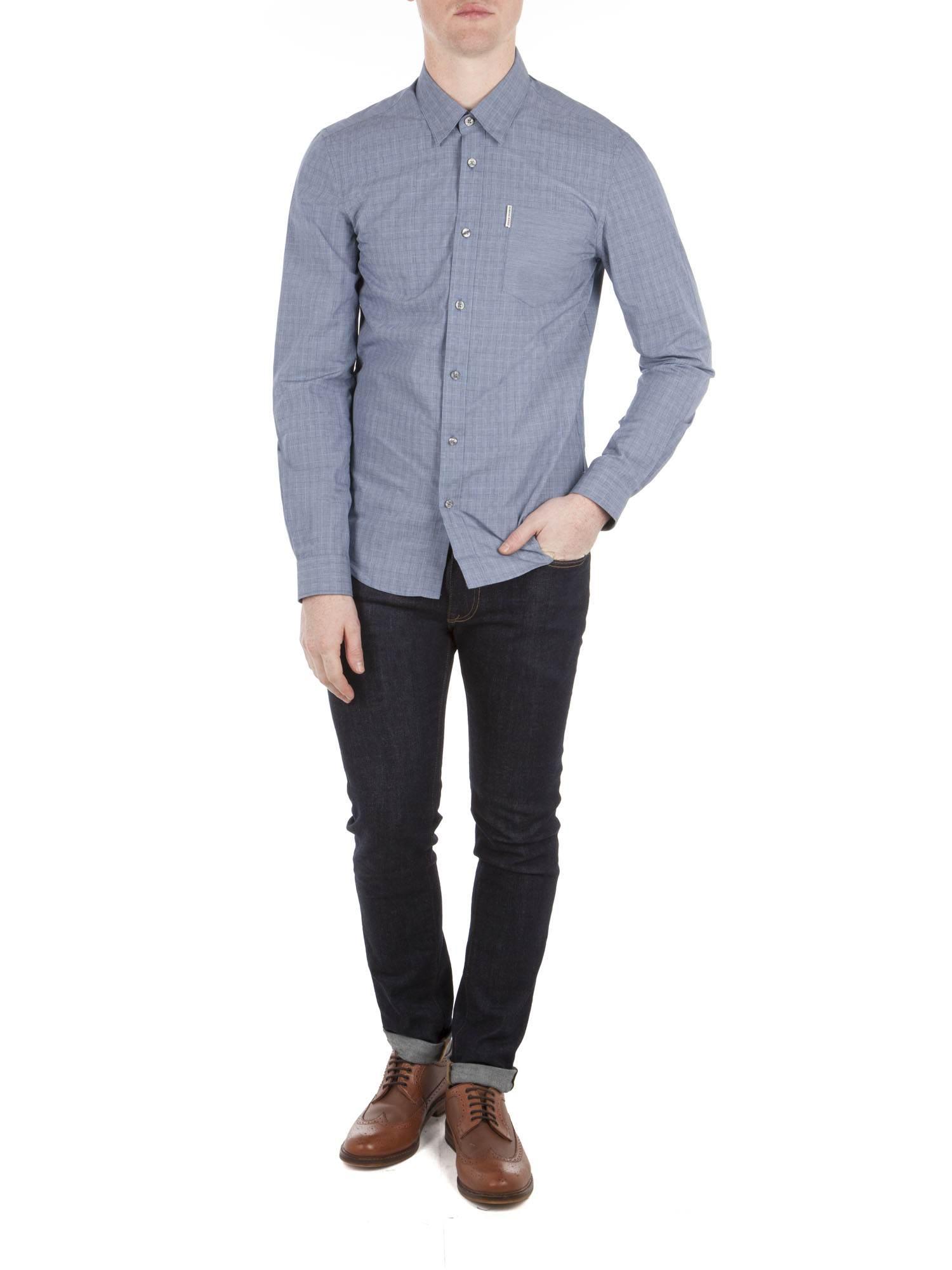 Long Sleeve Soho Check Shirt