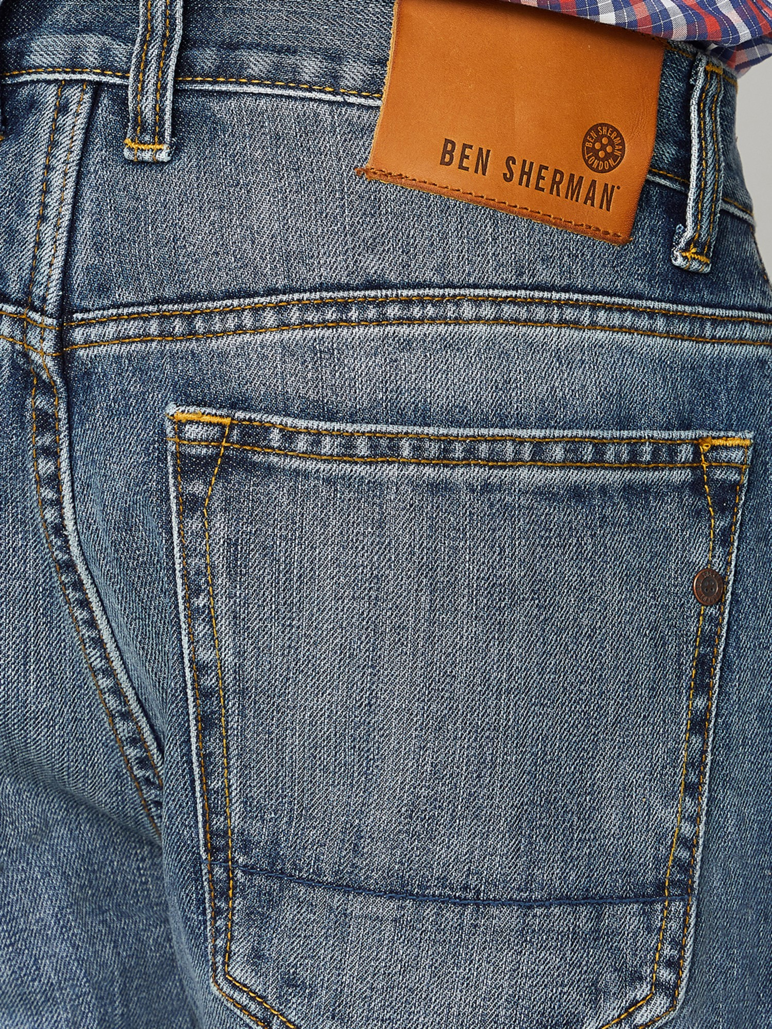 5 Pocket Straight Light Wash Jean