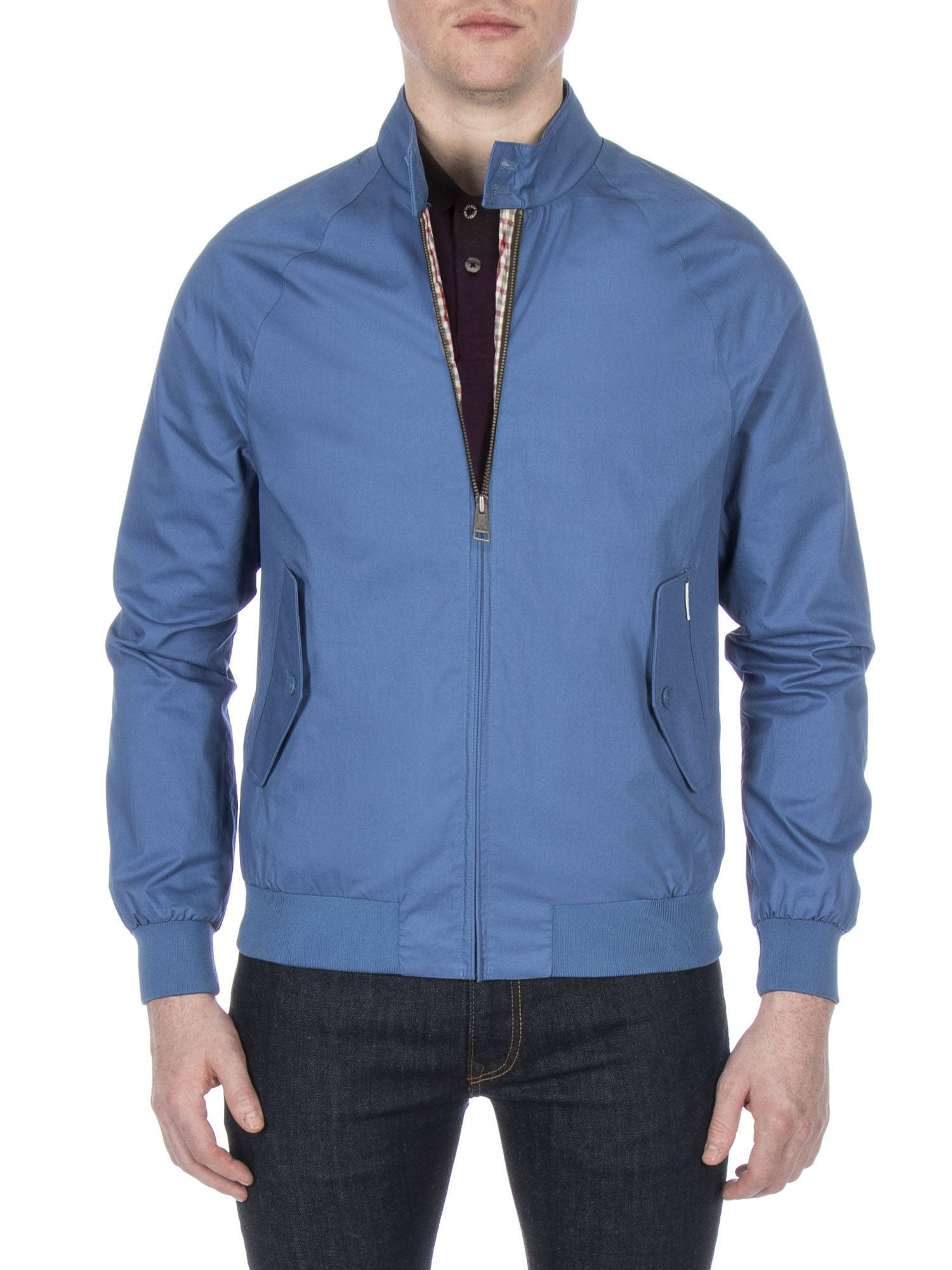 Blue Harrington Jacket Federal blue | Ben Sherman