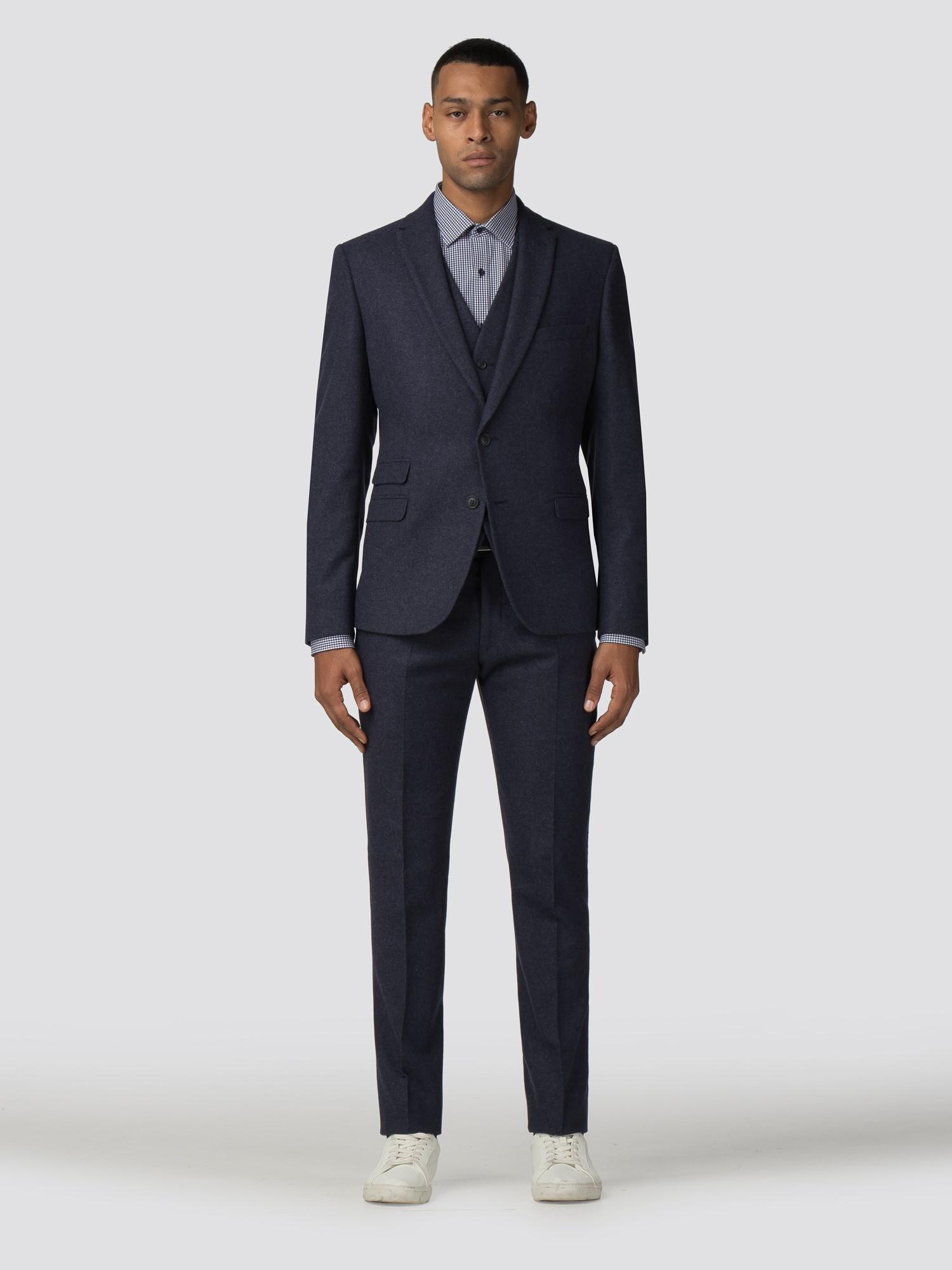 931057c54cc Men's Blue Tweed Skinny Fit Blazer   Ben Sherman   Est 1963