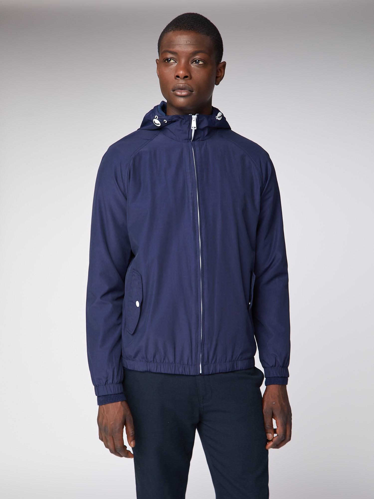 Navy Hooded Jacket | Ben Sherman