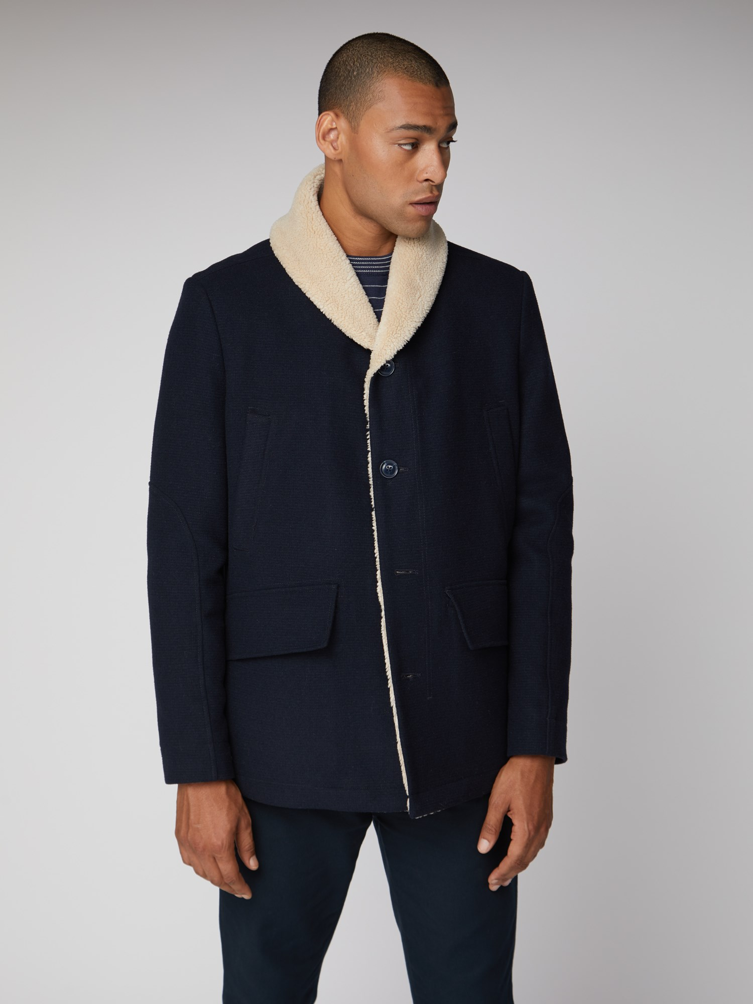 Ben Sherman Mens Fashion Outerwear Jacket