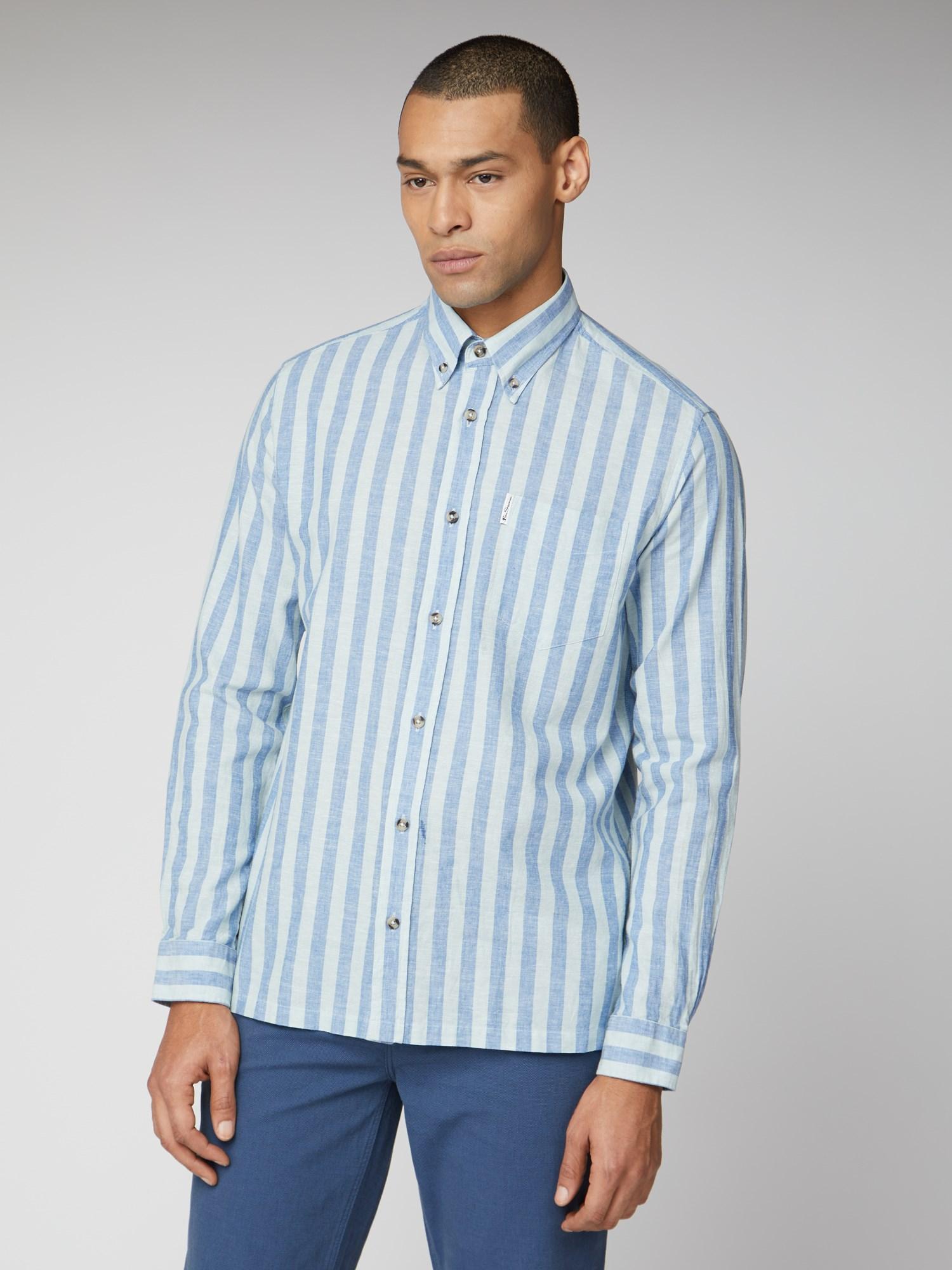 Ben Sherman Stripe Blue