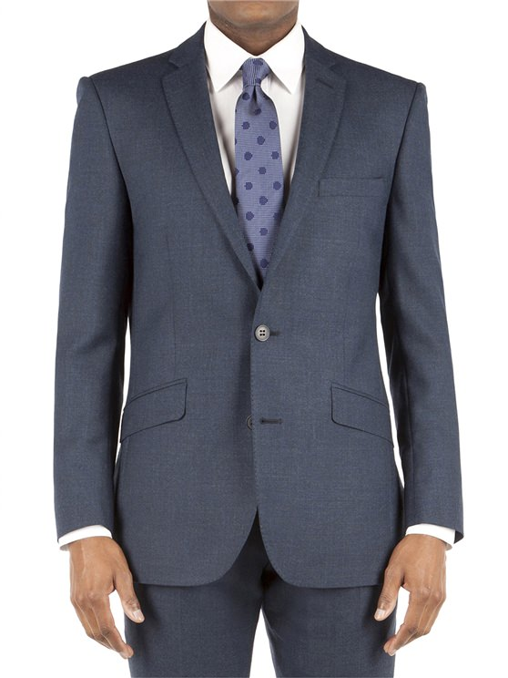 Ben Sherman Dark Teal Flannel Kings Fit Suit