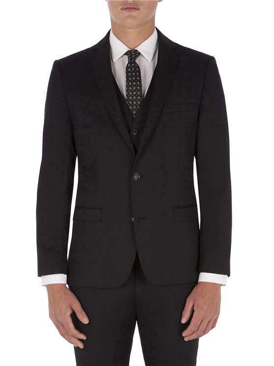 Black Twill Camden Fit Suit
