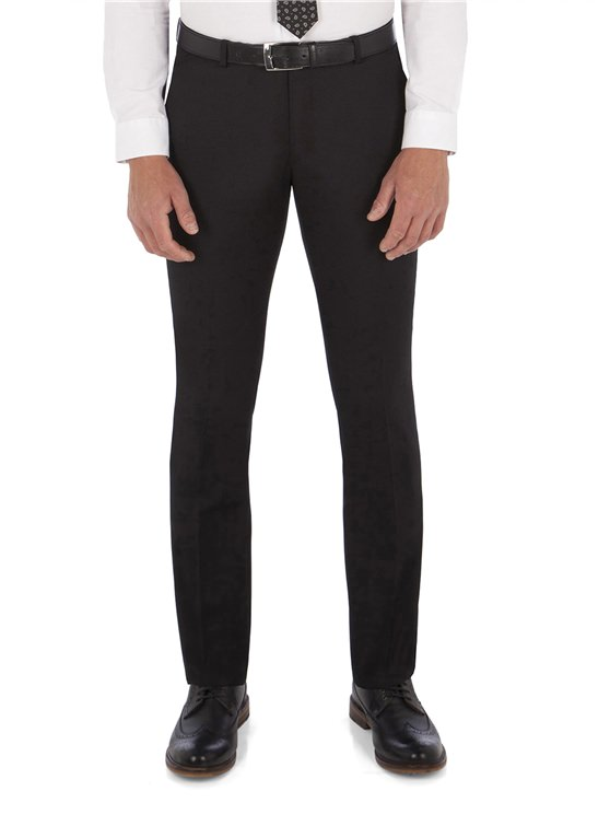 Black Twill Camden Trouser