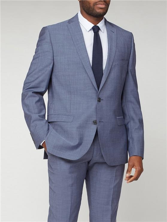 Blue Three Piece Suit  | Mens Blue 3 Piece Suit