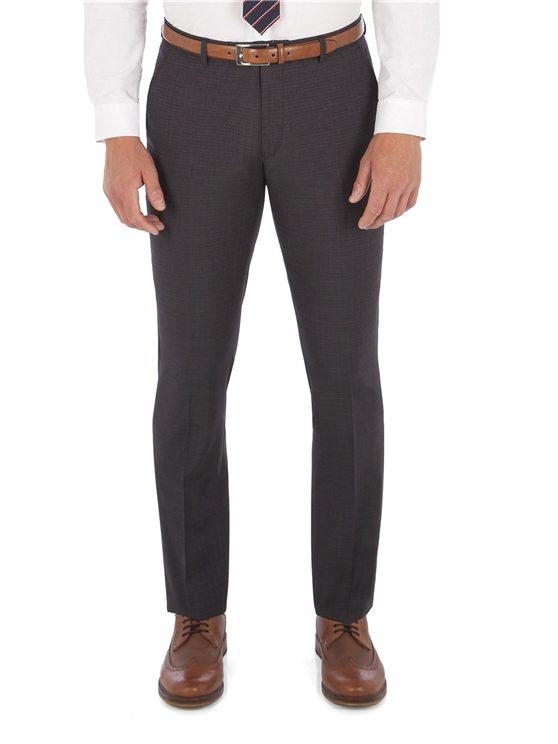 Men's Suits Peacoat Structure Navy Check Camden Suit Trouser | Ben Sherman