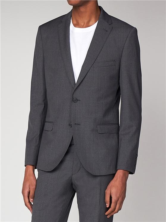 Grey puppytooth jacket