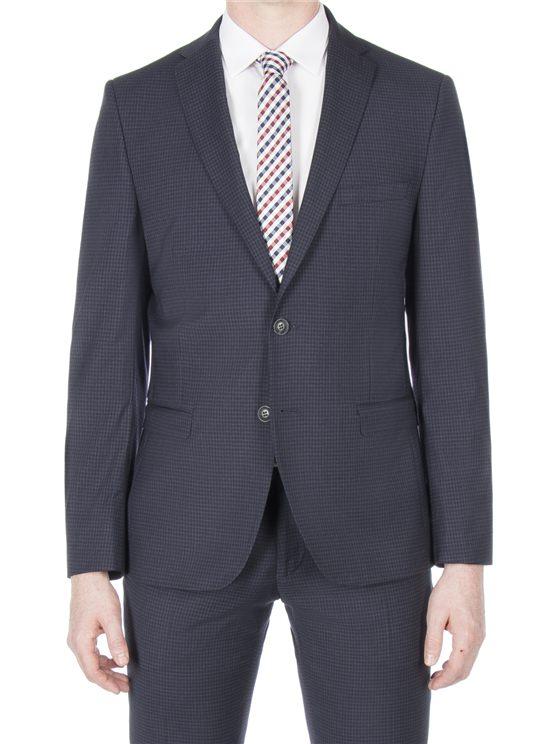 Midnight gingham jacket