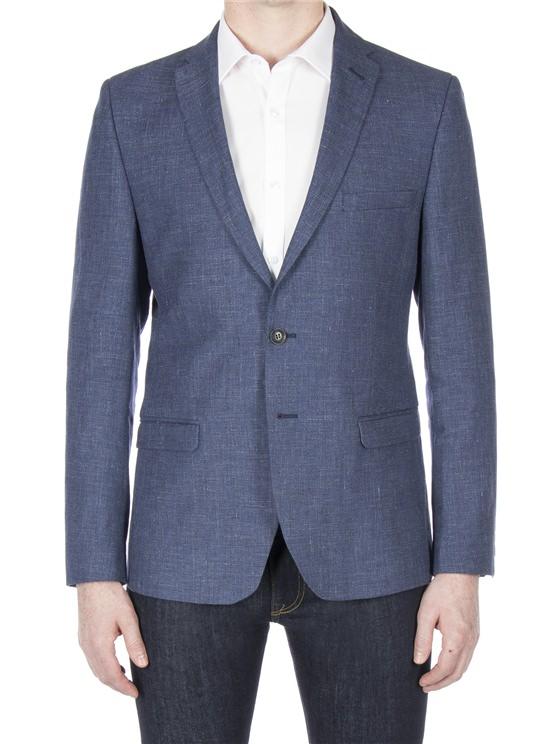 Airforce linen blazer