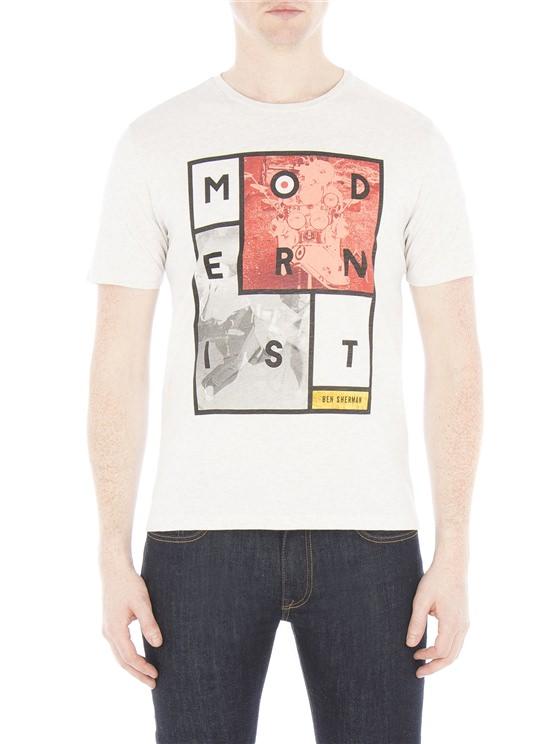 Modernist Cube Print T-Shirt