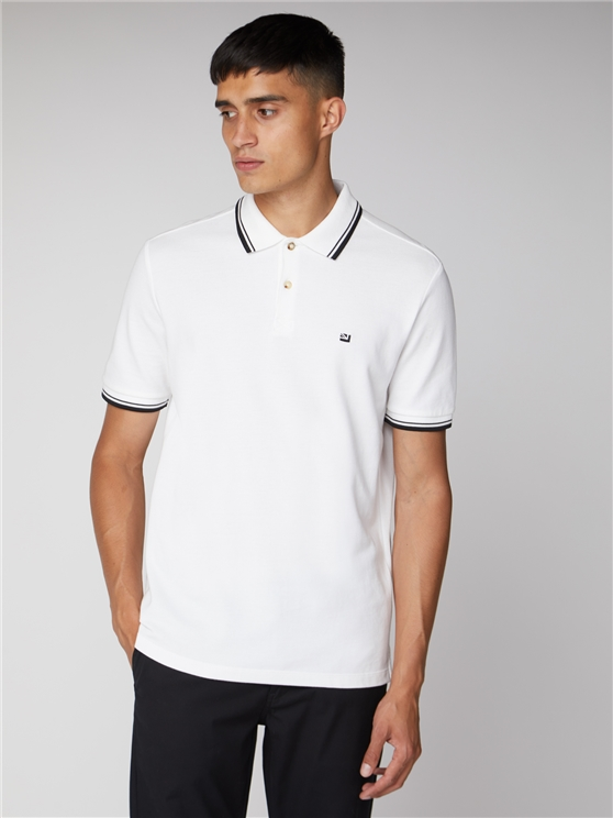 White Romford Polo Shirt
