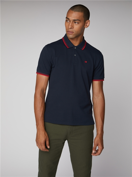 Navy Romford Polo Shirt
