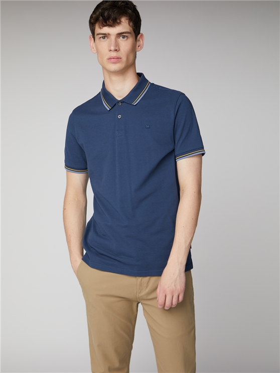 Ink Blue Romford Polo