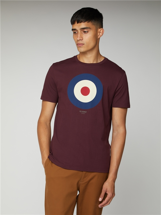 Port Red Target T-Shirt
