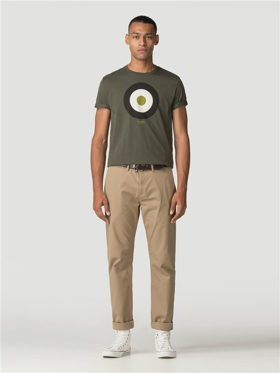 Dark Green Target T-Shirt