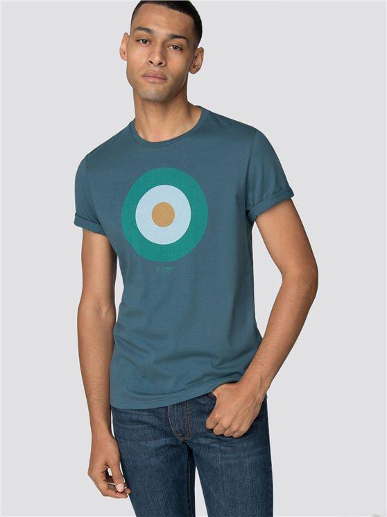 Teal Target T-Shirt