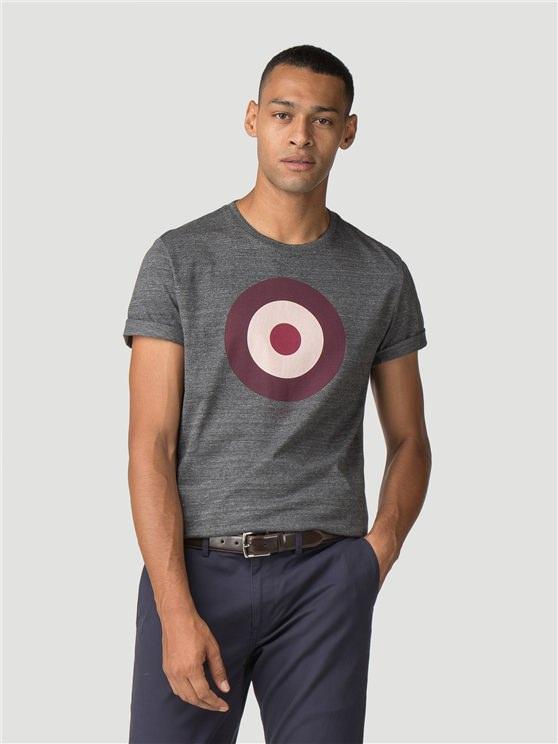 Dark Grey Target T-Shirt