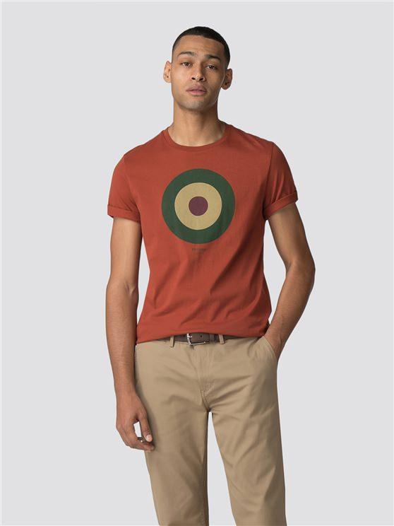 Burnt Orange Target T-Shirt