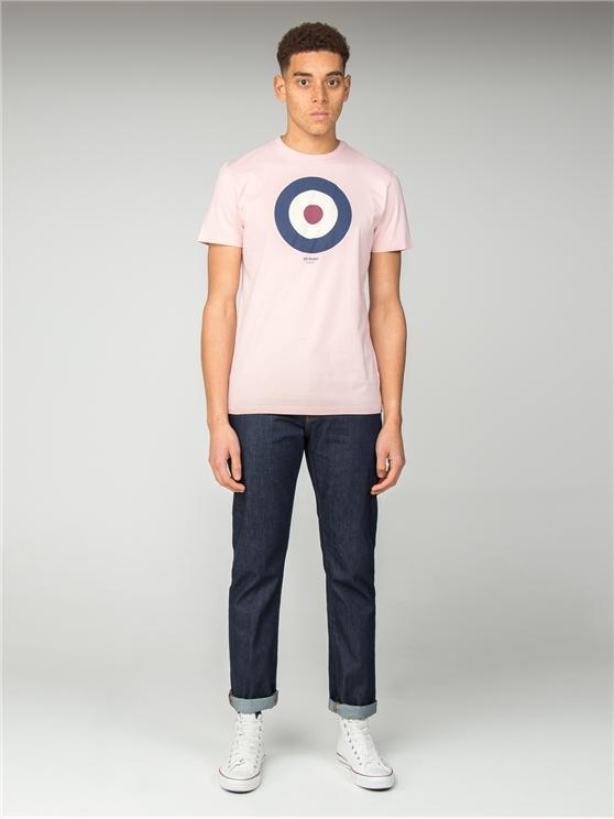 Pale Pink Target T-Shirt
