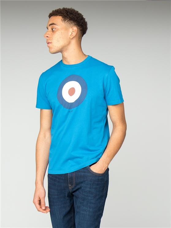 Aqua Blue Target T-Shirt