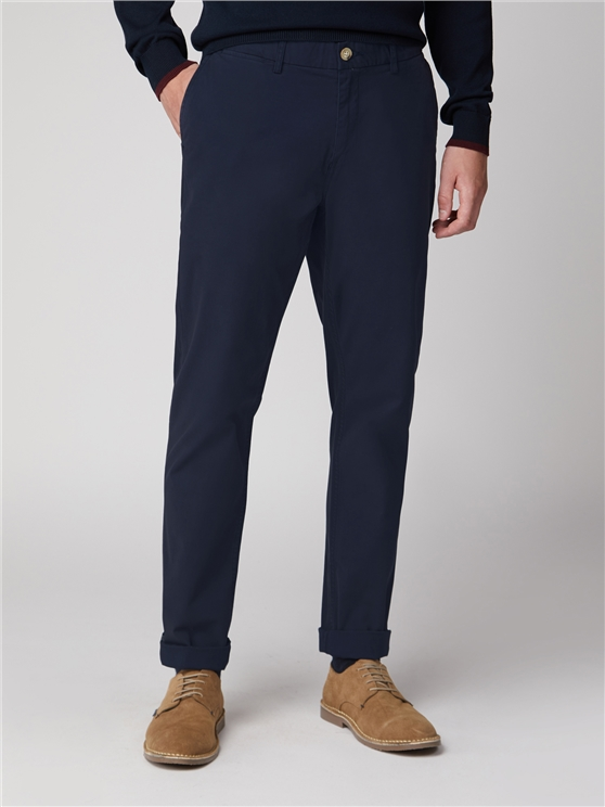 Dark Navy Slim Stretch Chino