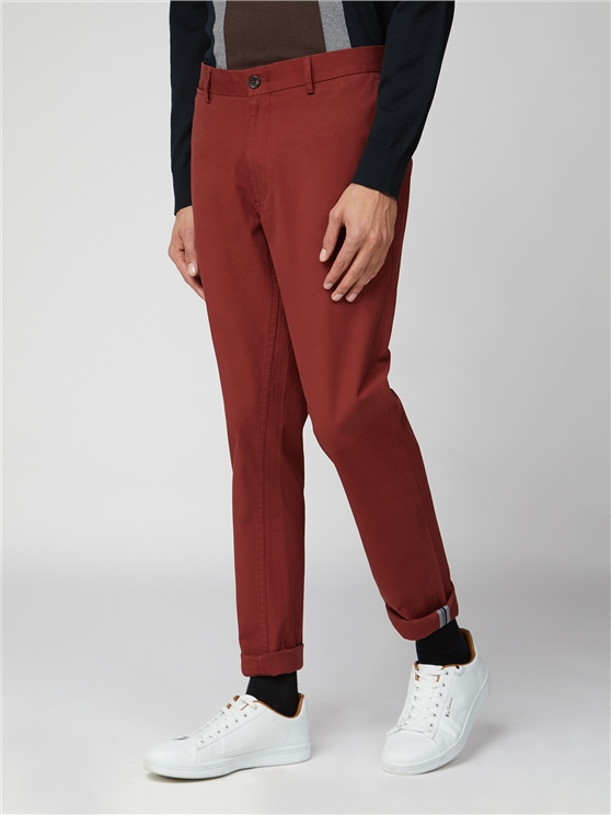 Chestnut Slim Stretch Chino