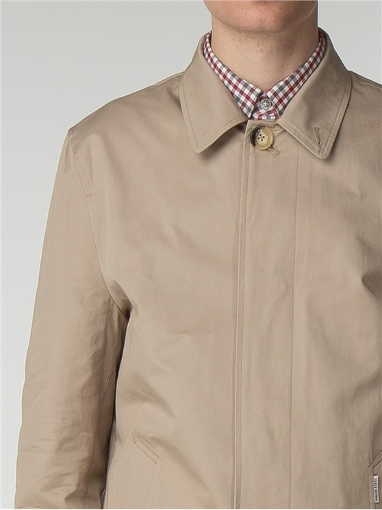 Mens Beige Mac | Beige Trench Coat Mens
