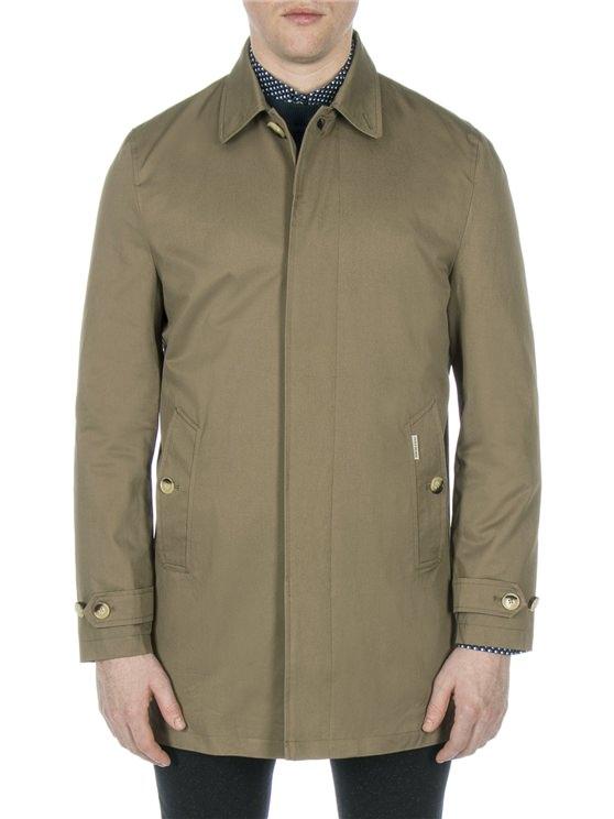 Mens Mac Coat | Green Trench Coat Mens