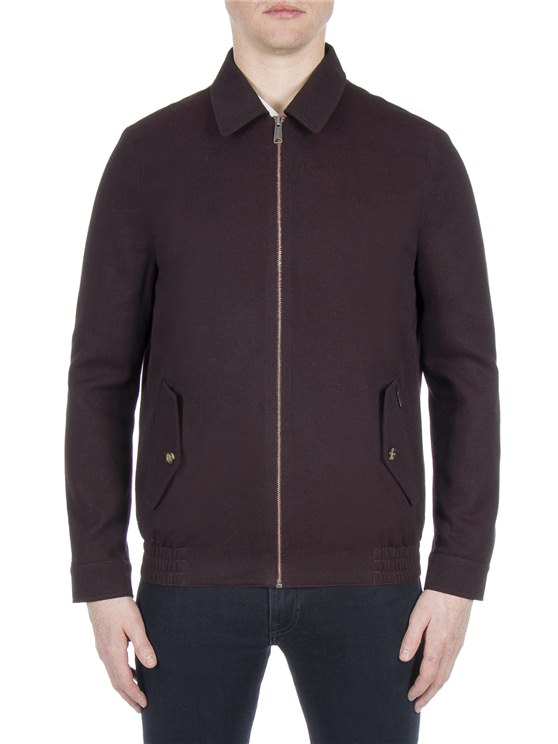 Brown Blouson Jacket
