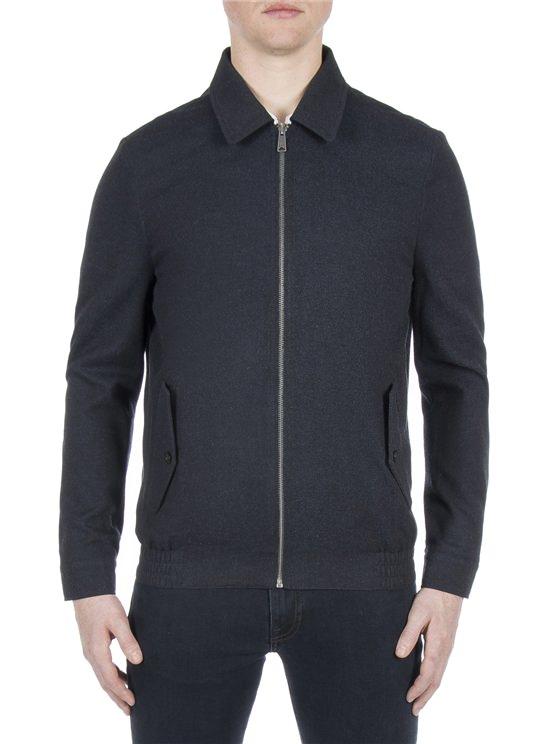 Blue Blouson Jacket
