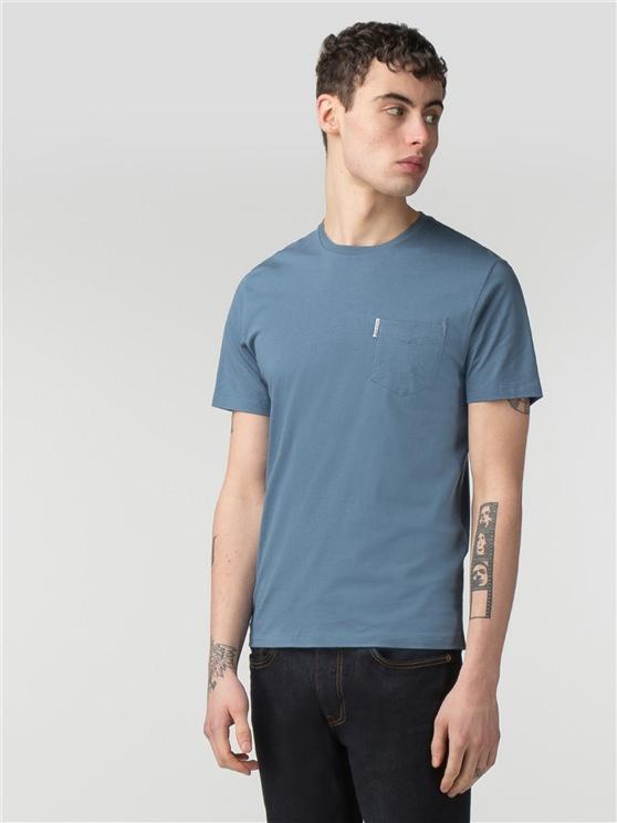 Plain Pocket Crew T-Shirt