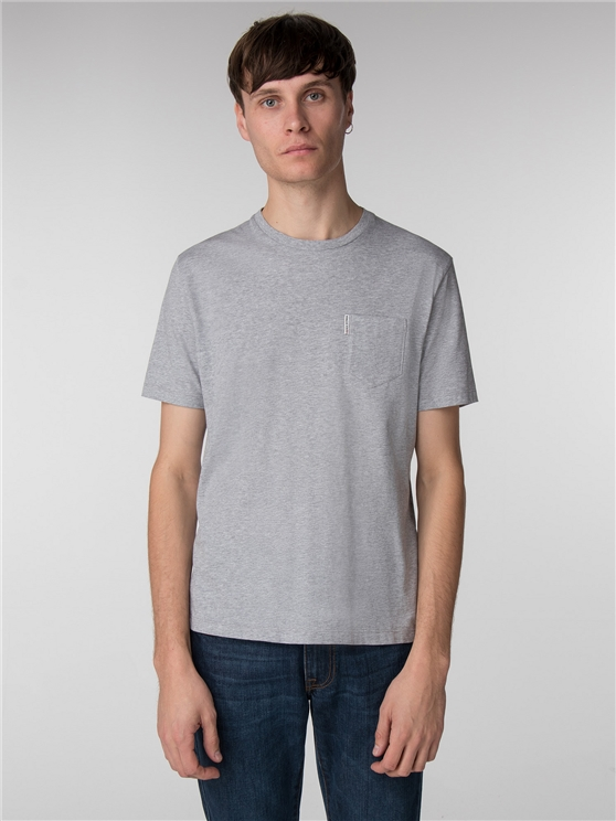 PLAIN POCKET CREW TEE