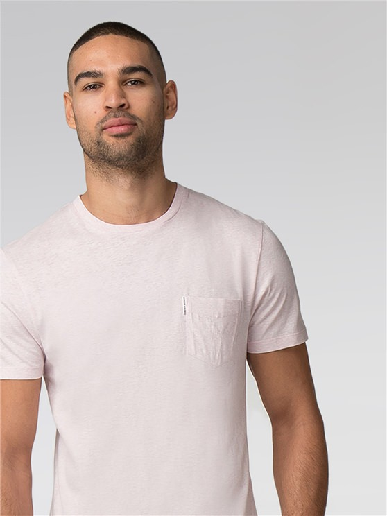 Plain Pocket Crew T-Shirt