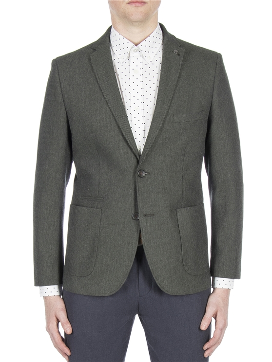 Clover Green Micro Texture Jacket