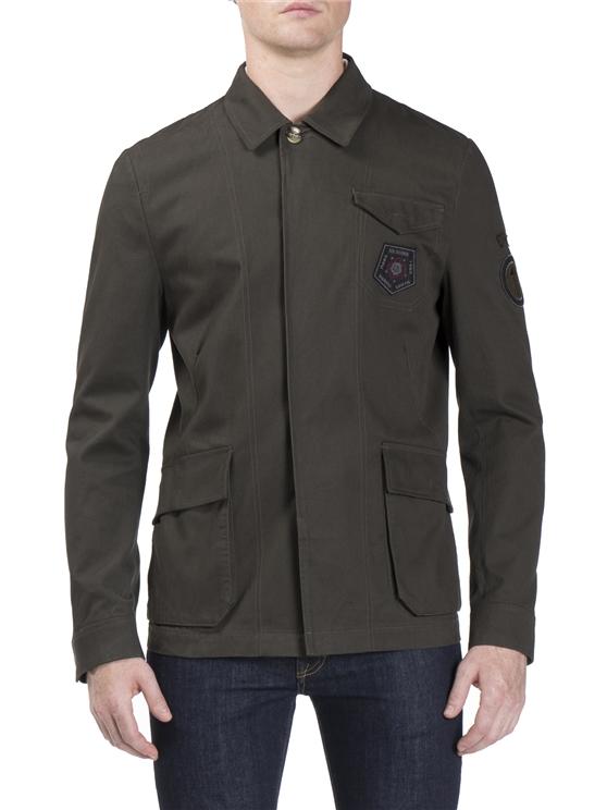 Brown Military Jacket