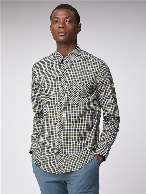 Long Sleeve House Check Shirt