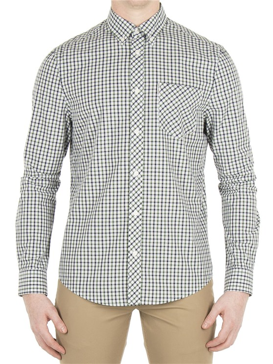 Long Sleeve House Check Shirt- currently unavailable