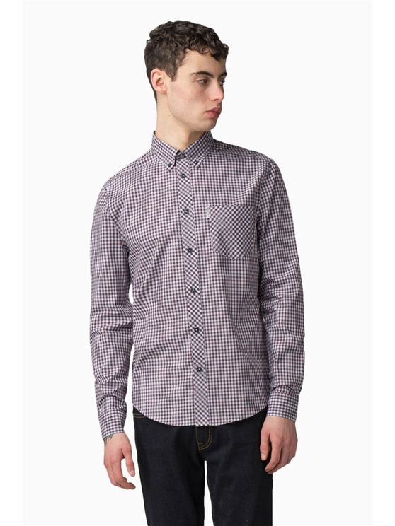 Long Sleeve Core Gingham Shirt