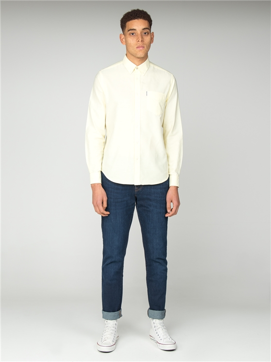 b193872178c5 Long Sleeve Core Oxford Shirt | Ben Sherman