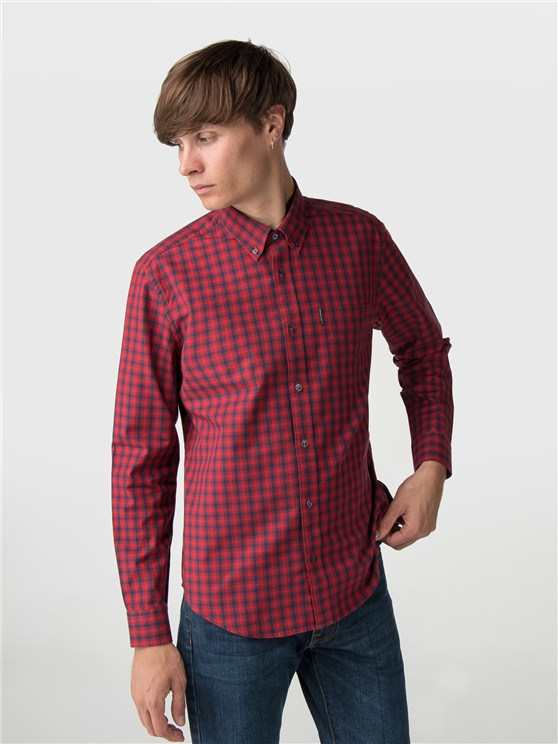 Long Sleeve House Gingham Shirt- currently unavailable