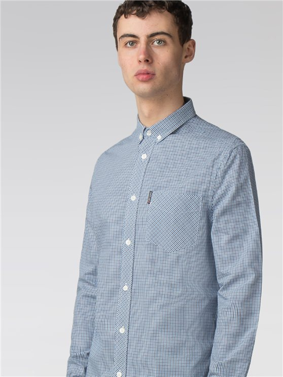 Long sleeve New Mini House Gingham Shirt