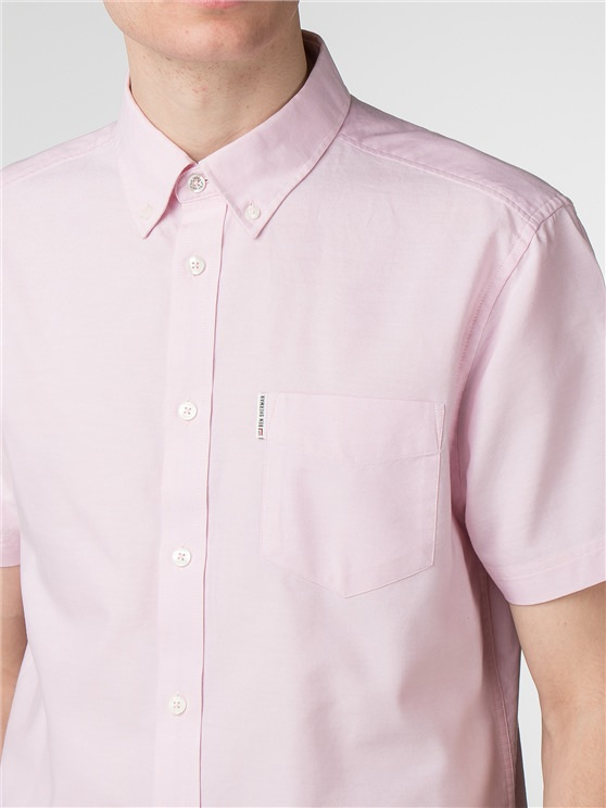 Short Sleeve Plain Oxford Shirt- currently unavailable