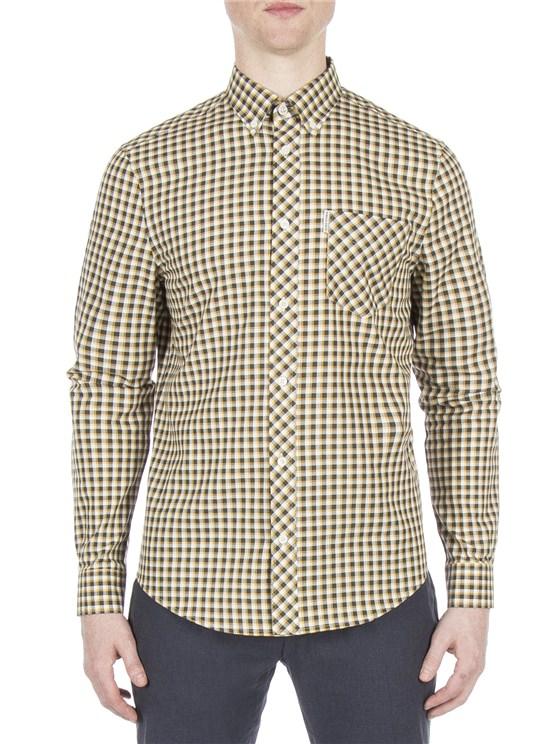 Long Sleeve Oxford Check Shirt