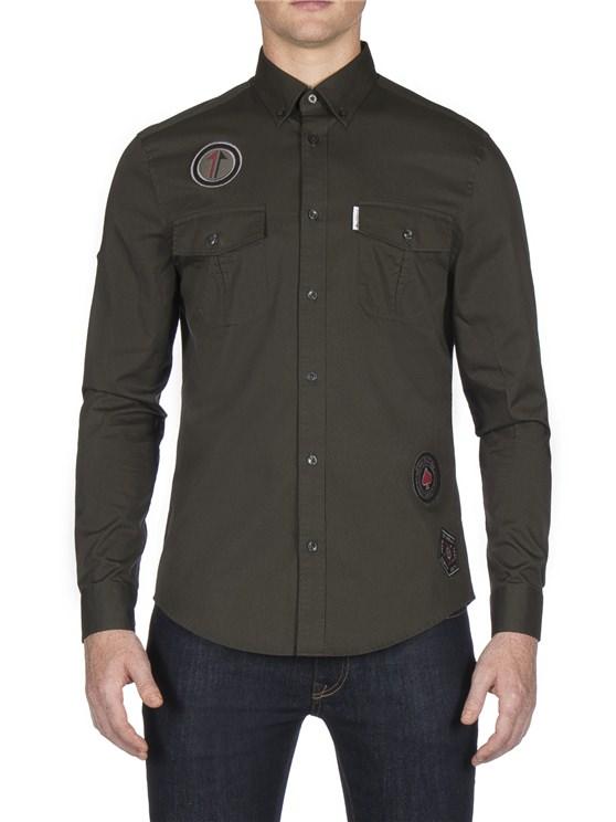 Long Sleeve Twisted Wheel Shirt