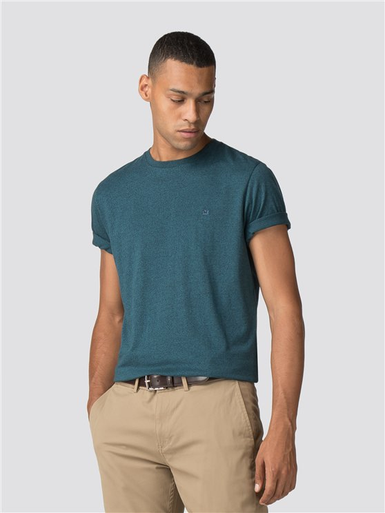 Teal Plain Grindle T-Shirt