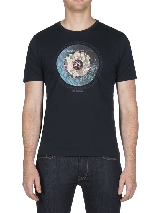 PHOTOGRAPHIC TARGET PRINT TEE- currently unavailable